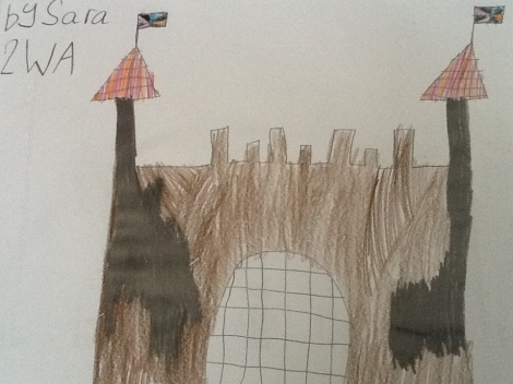Castle by Sarah (Class 2WA)