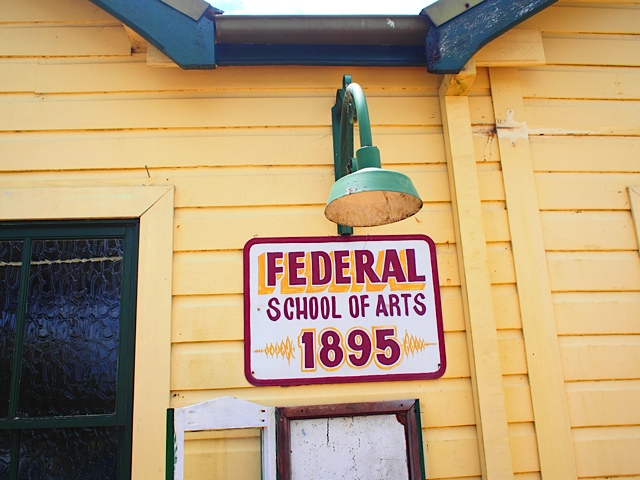 Federal School of Arts 1895