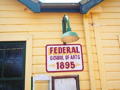 FEDERAL SCHOOL OF ARTS 1895