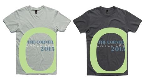 THE CORNER DANCE LAB 2015 t-shirts